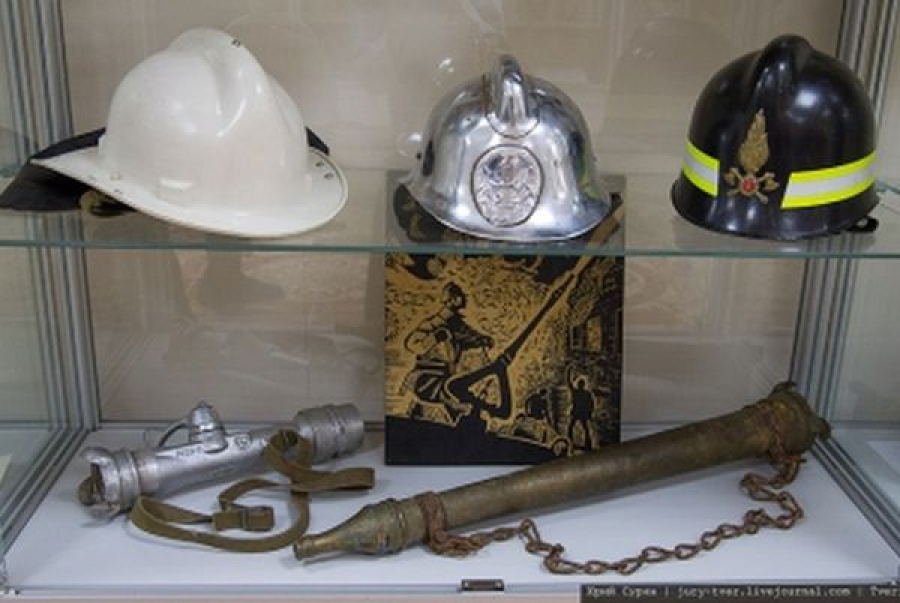 Пожарные Верхневолжья проводят выставки и Дни открытых дверей