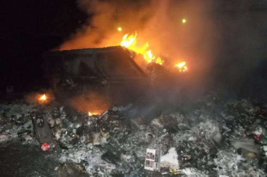 В Ржеве наступил мусорный коллапс