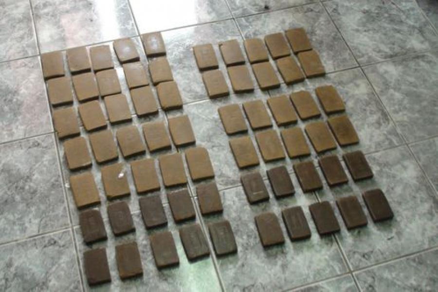 Более 6 кг гашиша нашли в машине москвича тверские наркополицейские