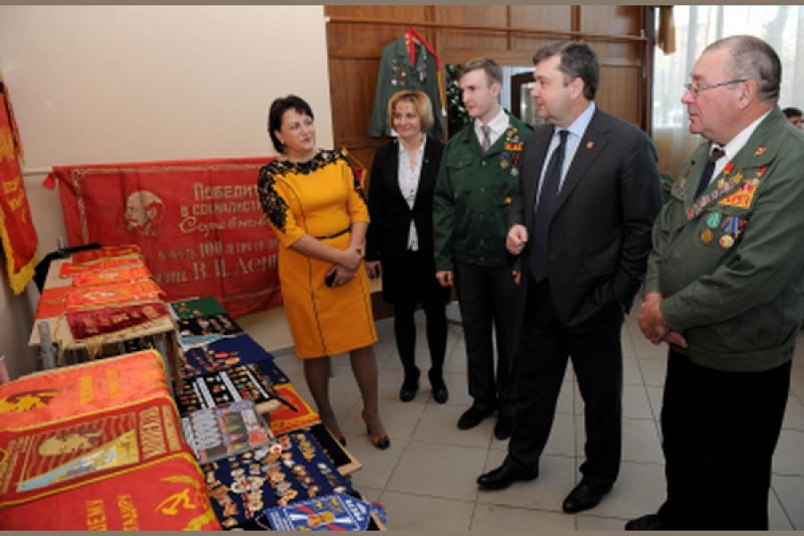 Власти Тверской области оказывают поддержку студенческим отрядам