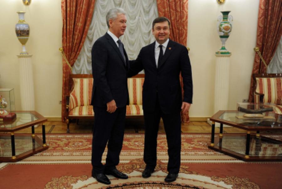 Тверская область и Москва будут сотрудничать во всех сферах