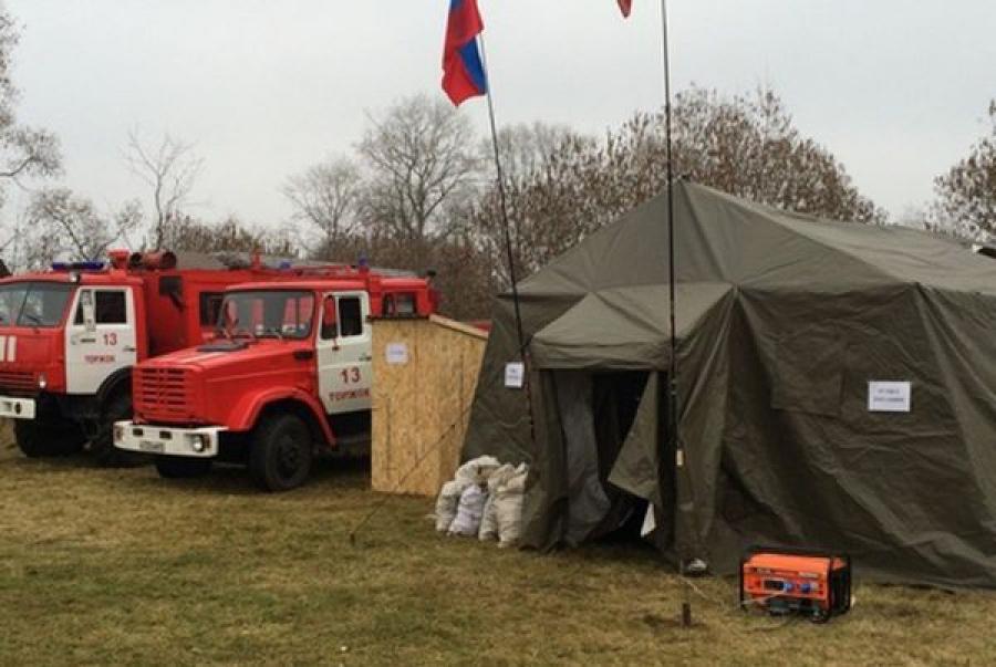 Спасатели проверяют готовность к зиме пунктов обогрева на федеральных трассах Верхневолжья