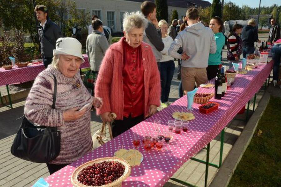 Фестиваль клюквы впервые в России прошел в Весьегонске
