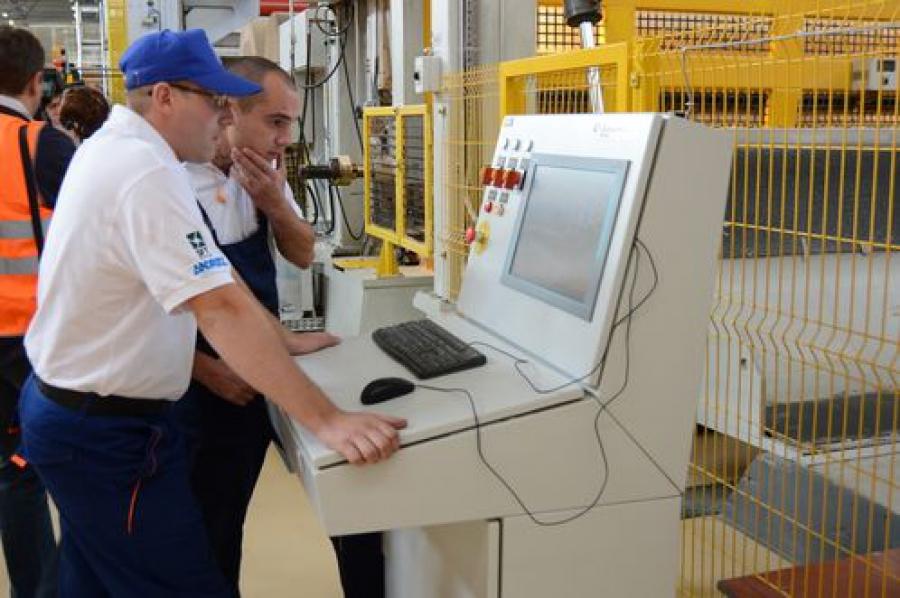 На Каменской БКФ открылось современное производство картона