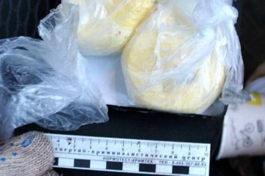 Наркополицейские задержали наркозависимого с партией кокаина