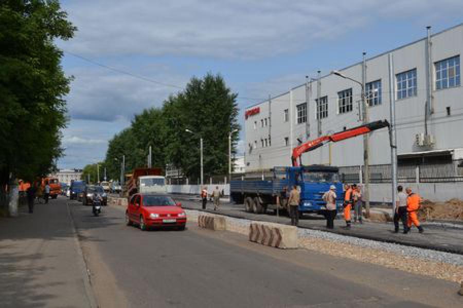 Движение по улице Орджоникидзе в сторону площади Гагарина в Твери открыто