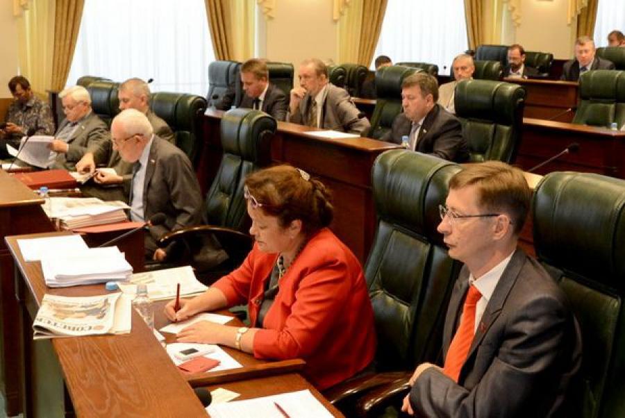 Депутаты областного парламента приняли ряд важных для региона решений