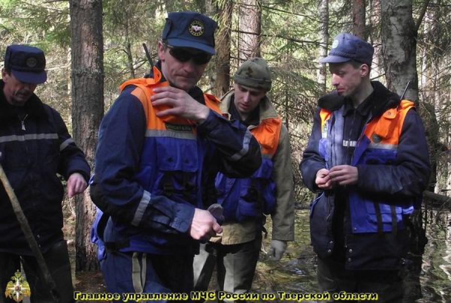 На прошедшей неделе спасатели четыре раза искали пропавших в тверских лесах людей
