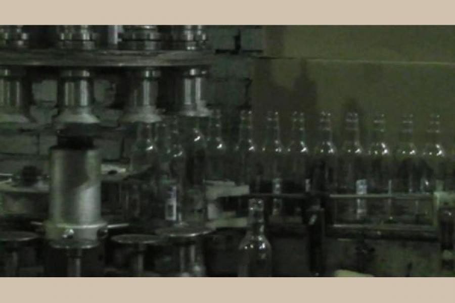 В Ржеве в подпольном цеху нашли более 1 тонны фальсифицированного алкоголя