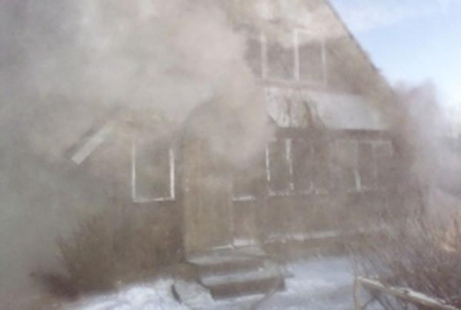 В Твери горел дом на улице 2-й за Линией