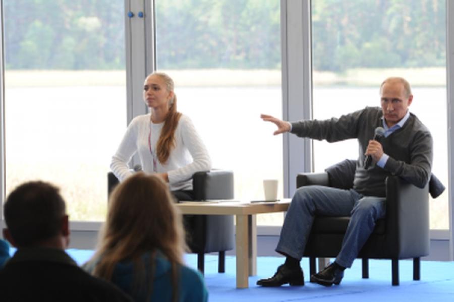 Владимир Путин побывал на форуме «Селигер-2014″