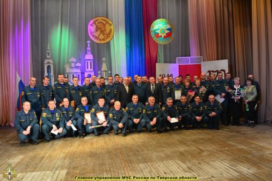 Пожарная охрана Осташкова отпраздновала 170-летие