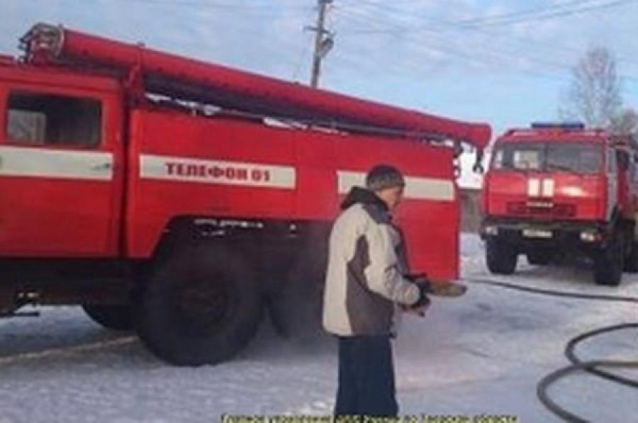 В Твери горела квартира на улице Седова, есть пострадавший