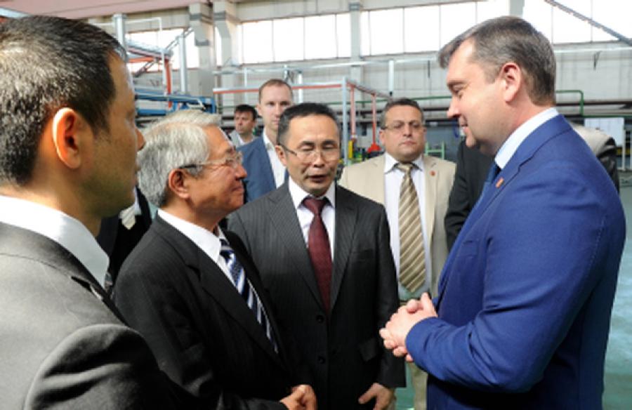 Японское предприятие по производству комплектующих для дорожно-строительной техники открылось в Твери