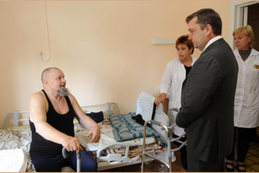 Услугами лечебно-реабилитационного центра воспользовались более 700 ветеранов