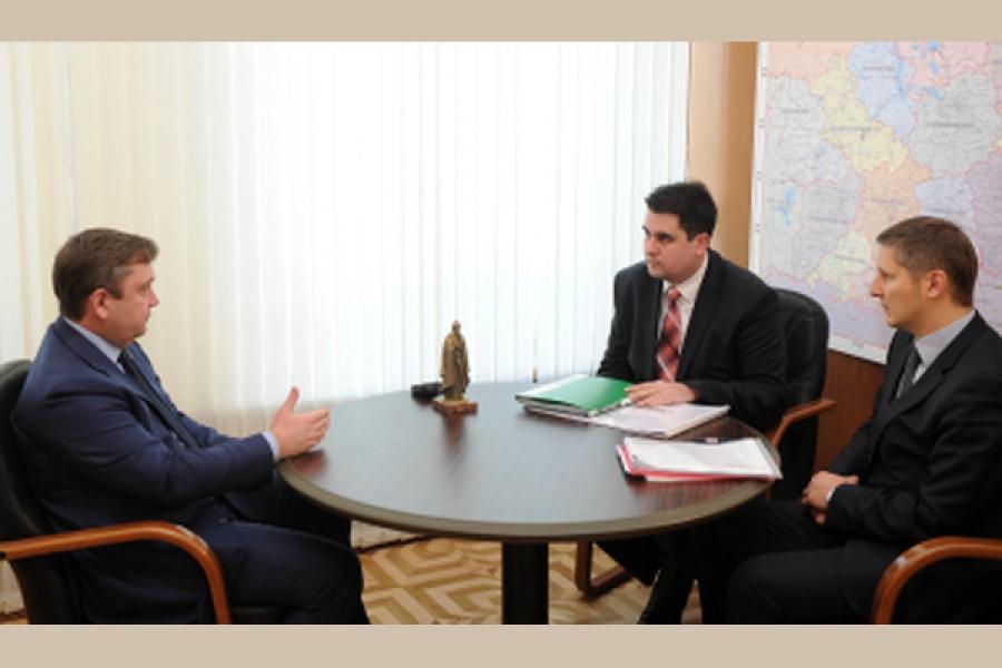 Губернатор обсудил с бизнес-омбудсменом выстраивание диалога власти и бизнеса