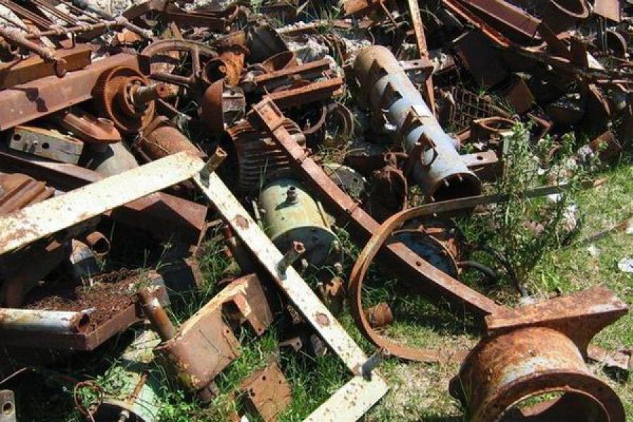 Стражи порядка закрыли незаконно работавший пункт приема металлолома в Максатихе