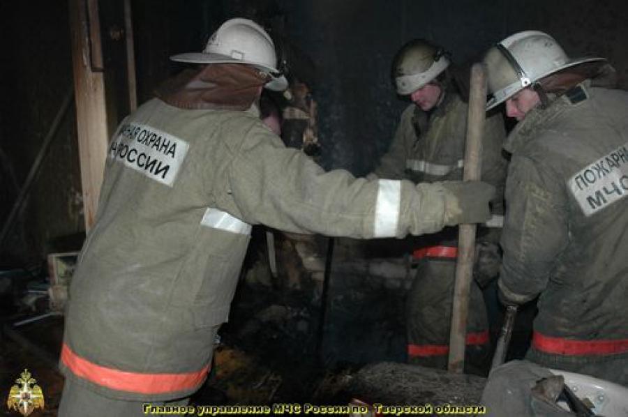 79-летний мужчина погиб при пожаре, произошедшем из-за неисправности дымохода