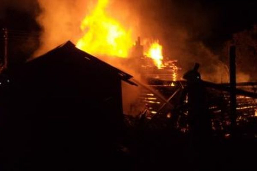 В Торжокском и Рамешковском районах сгорели жилые дома