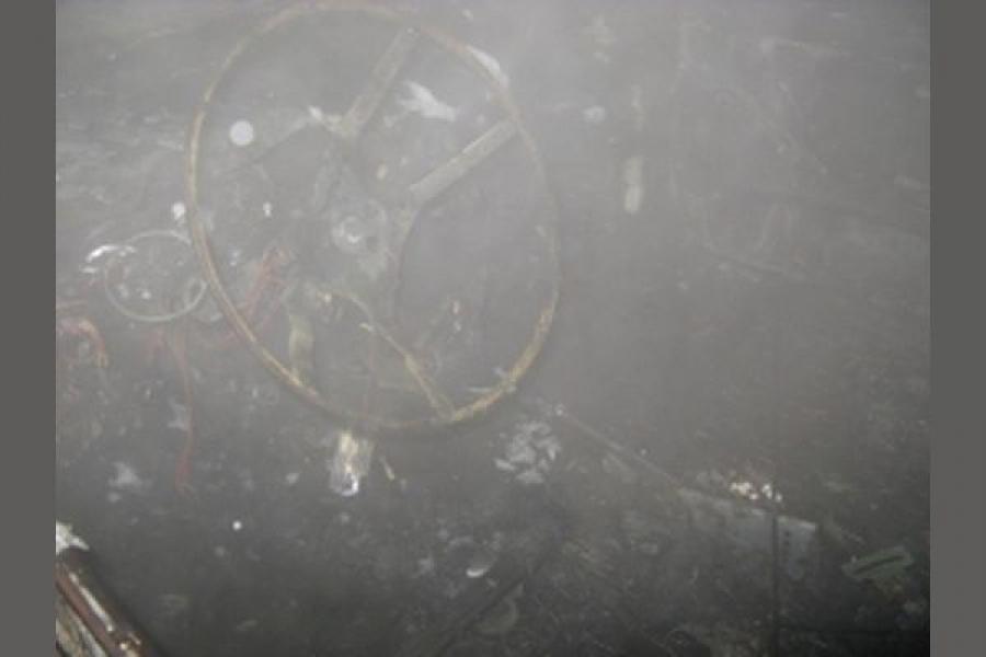 В Лихославле была подожжена отечественная «шестерка»