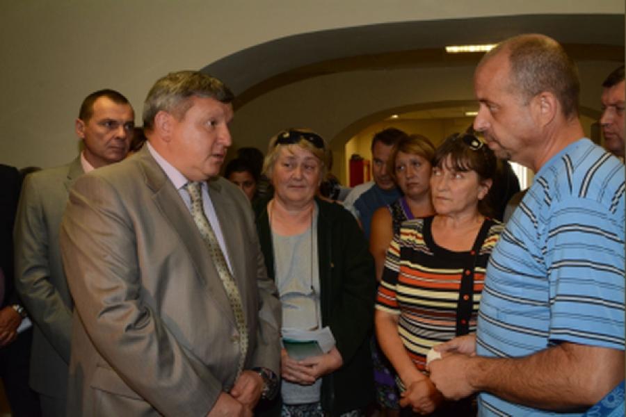 Представитель полпреда Президента в ЦФО удовлетворен условиями жизни в Твери переселенцев из Украины