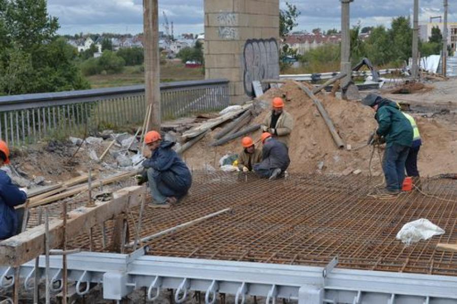 Восточный мост готовят к 7 сентября