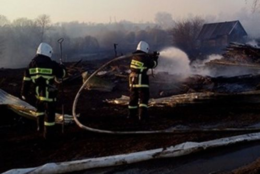 Пожары в сухой траве: за двое суток — 100 выездов пожарных