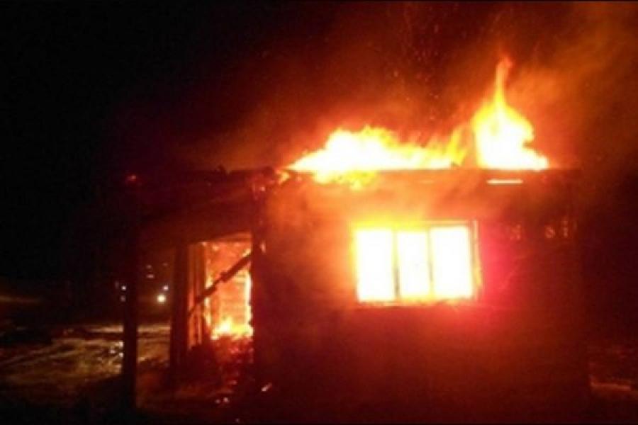 Короткое замыкание стало причиной пожара в Бежецком районе