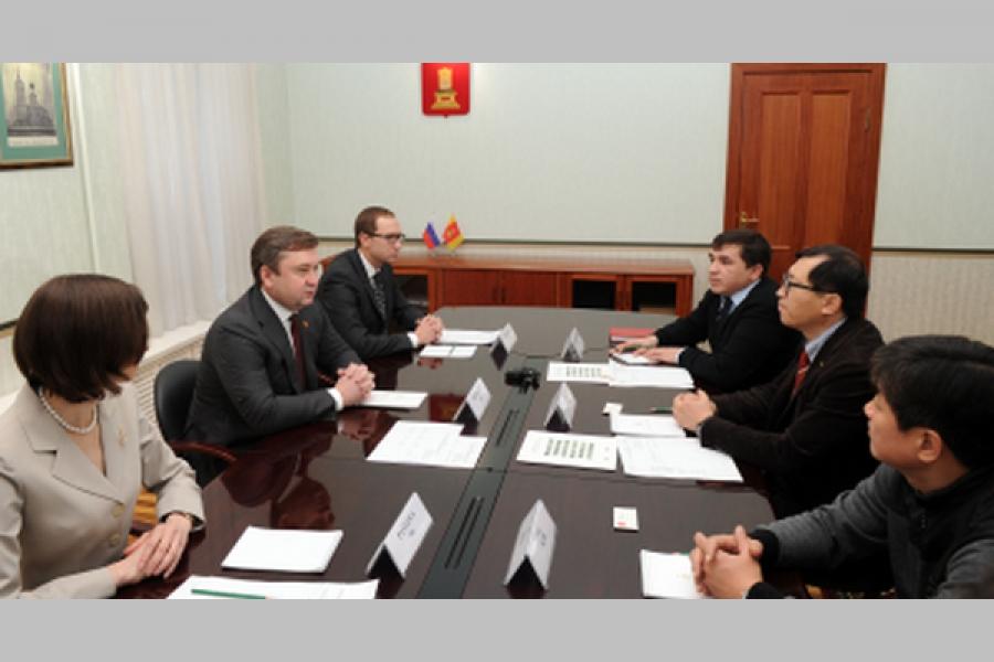 Губернатор ведет переговоры о строительстве в Твери второй очереди завода «Орион»