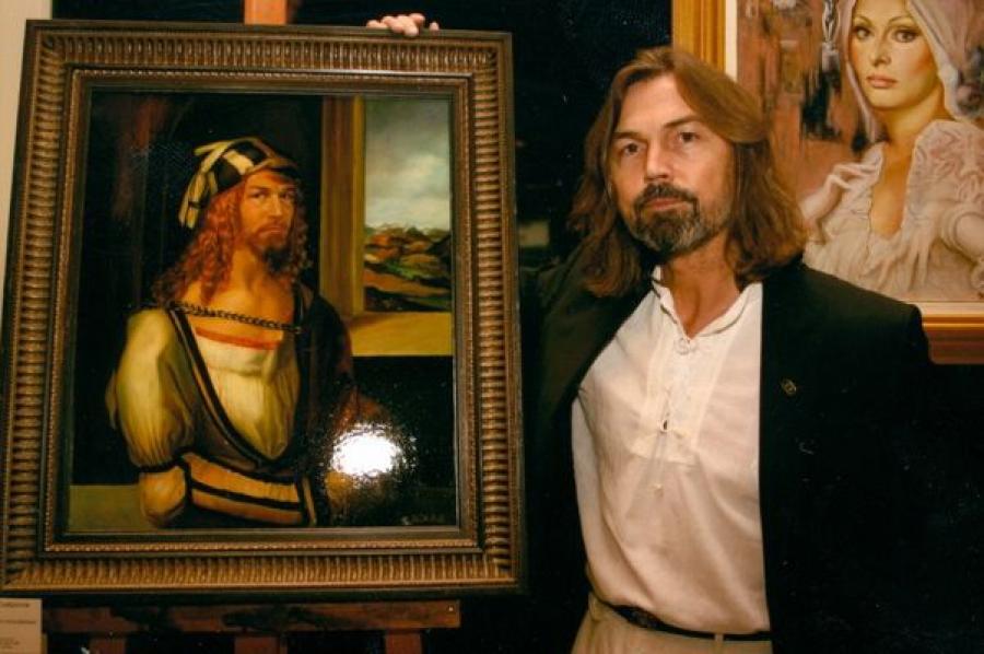Работы Никаса Сафронова можно увидеть на выставке в Твери