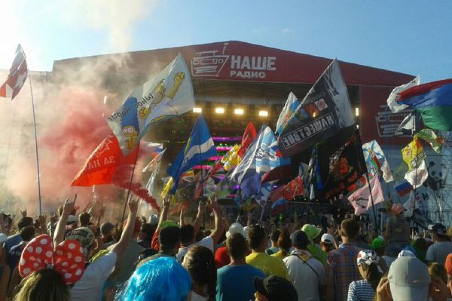 Более 150 тысяч зрителей побывало на «Нашествии»