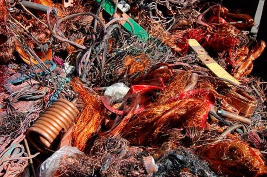 В Тверской области полицейские изъяли 15 тонн лома цветных и черных металлов
