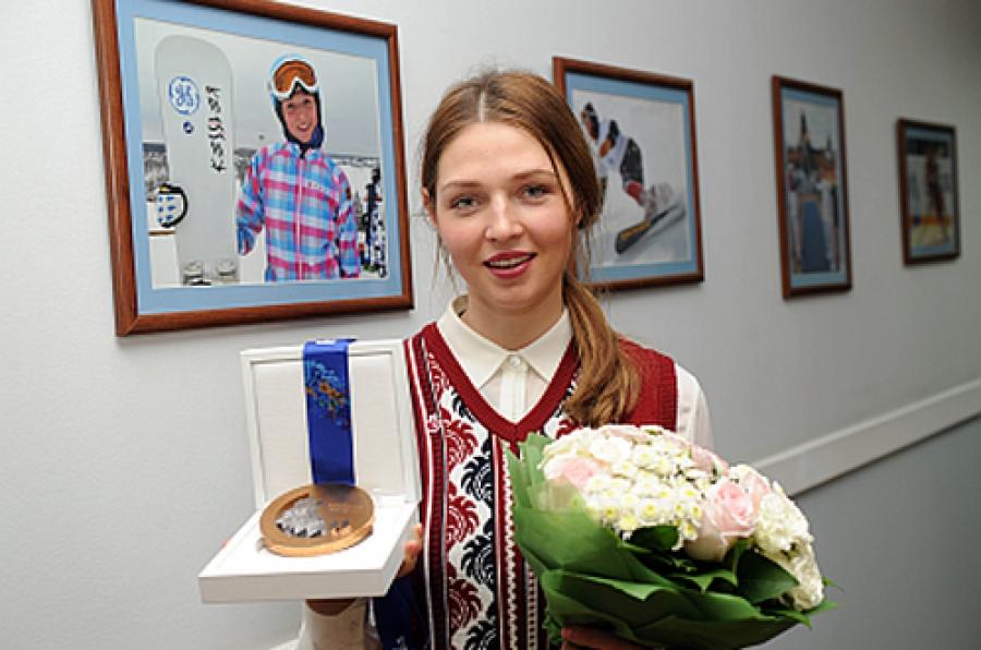 За олимпийскую «бронзу» — благодарность и 300 тысяч рублей от региона