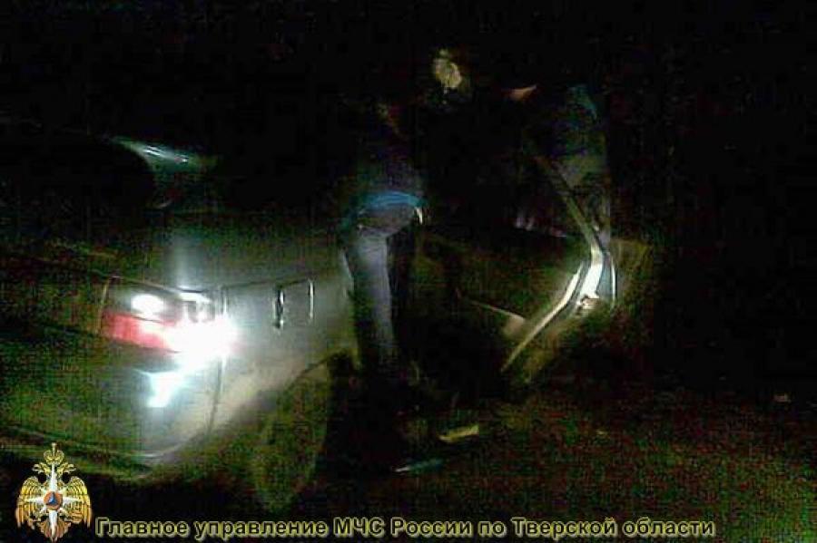 В Вышневолоцком районе в ДТП пострадали люди