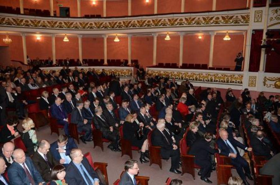 Двадцатилетие отмечает парламент региона