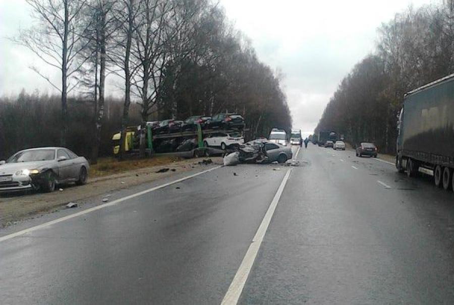 В ДТП на трассе М-10 «Россия» погибли два человека