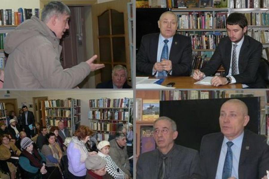Глава Твери встретился с общественностью Центрального района