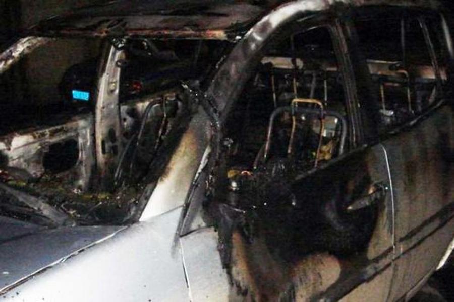 За один вечер в Тверской области сгорели три автомобиля