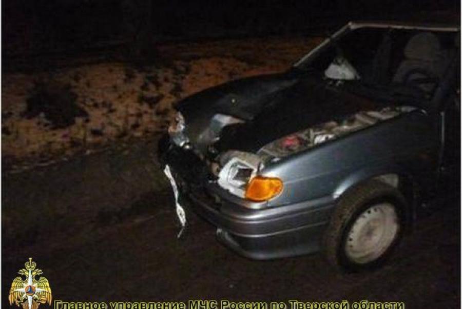 В Торжке автомобиль сбил пешехода