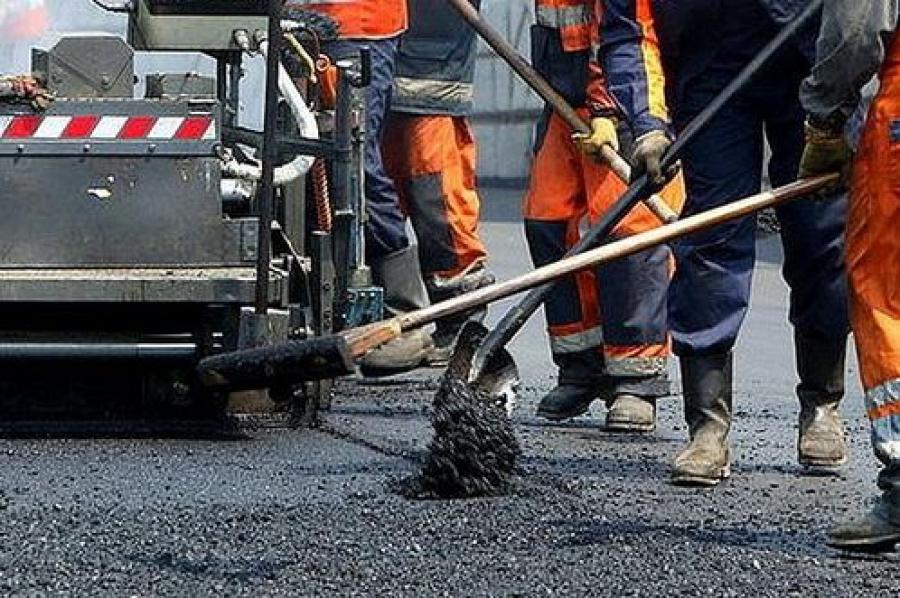 В регионе ремонтируют дворы и дороги