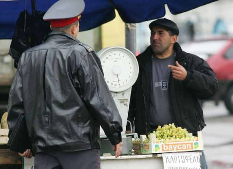 Более 260 иностранных граждан было доставлено в полицию за два дня