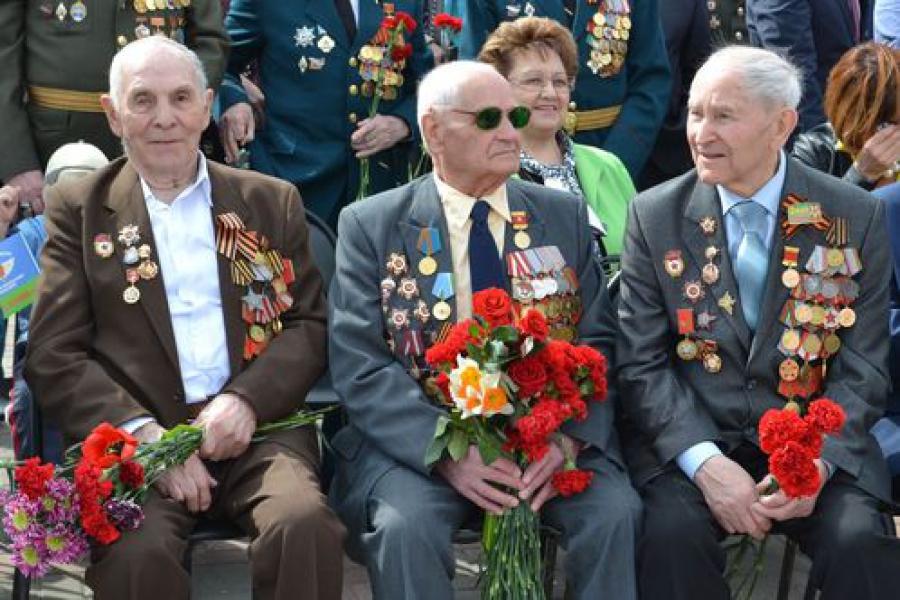 Тверь отпраздновала День Победы