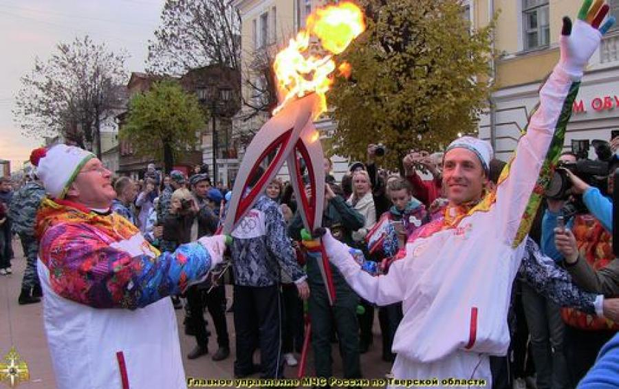 22 километра праздника: как Тверь принимала Эстафету Олимпийского огня