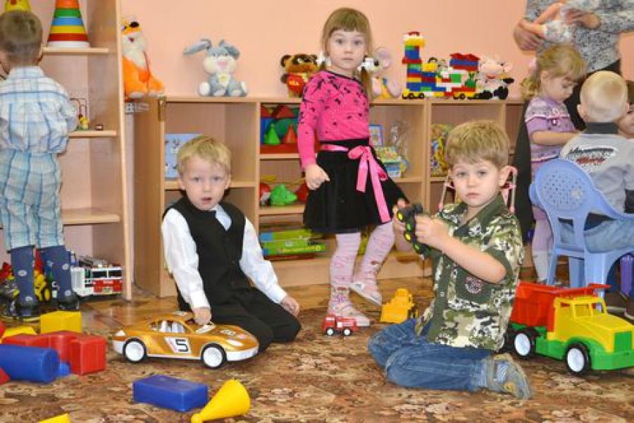 В тверских детских садах открываются новые группы