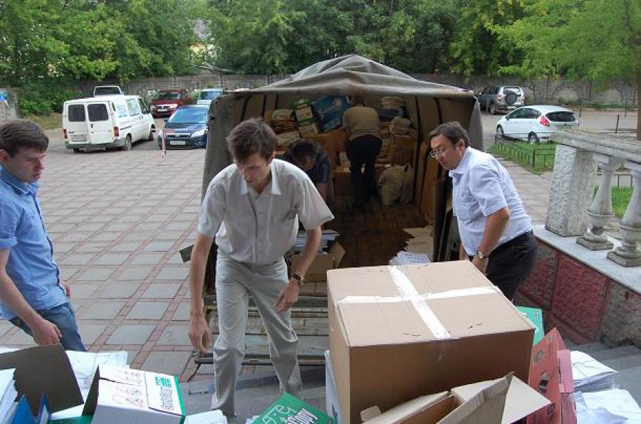 Министерство экологии Верхневолжья занялось сбором макулатуры