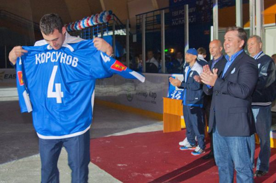 Болельщики ТХК отметили юбилей тверского хоккея товарищеским матчем