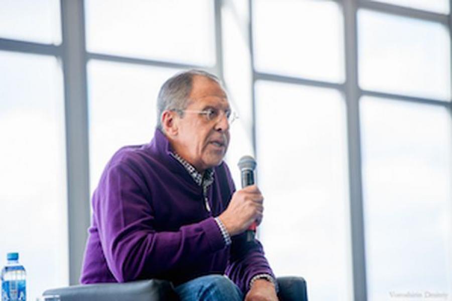 Глава МИД России посетил форум «Селигер»