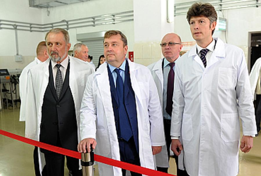 Губернатор побывал с визитом в Весьегонском районе