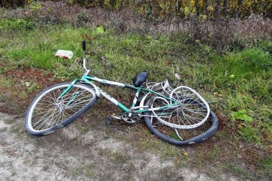 Велосипедист попал под колеса ВАЗа
