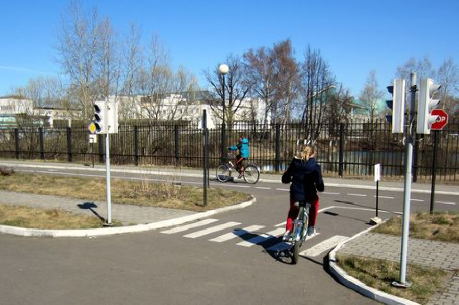 Юные тверичи соревновались в знании правил дорожного движения